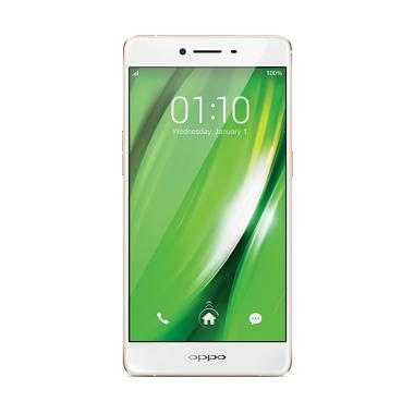 OPPO F1 Smartphone - Gold [16GB/ 3GB]