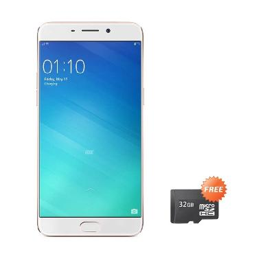 Oppo F1 Plus Selfie Expert Smartphone - Rose Gold + FREE MICROSD 16 GB + TONGSIS