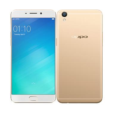 Oppo F1 Plus Smartphone - Gold [64GB/ 4GB]