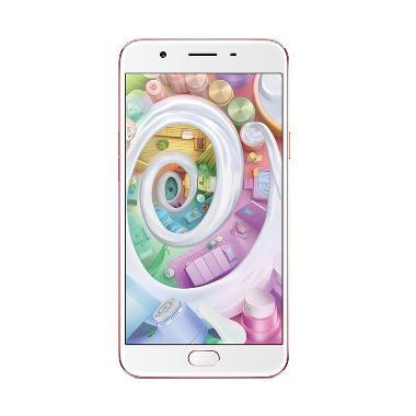 Oppo F1S Smartphone - Rose Gold Free Kuota 4 GB