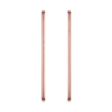 Oppo F1S Smartphone - Rose Gold free tempered glass