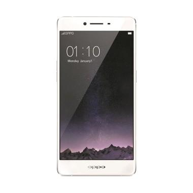 Oppo R7S Smartphone - Gold + Free Tempered Glass
