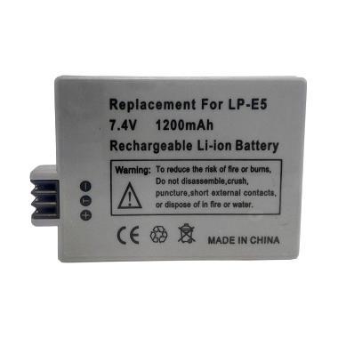 Optic Pro Baterai Kamera for Canon LP-E5