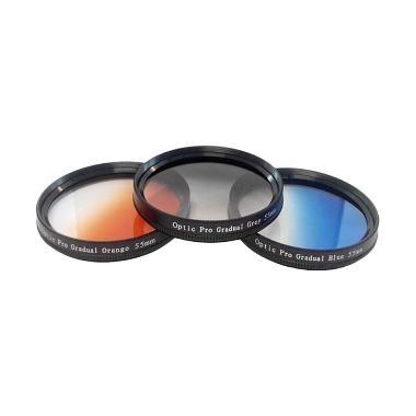 Optic Pro Kit Gradual Filter Lensa [55mm]