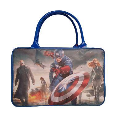 Jejo Travelling Bag For Kids Tas Travel Koper Anak Captain America
