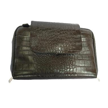 Orange Collections Crocodile Dompet BBO for Tab - Hitam
