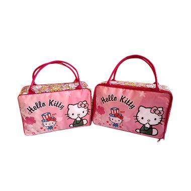 Jejo Travel Bag Tas Koper Anak Besar Hello Kitty Pink