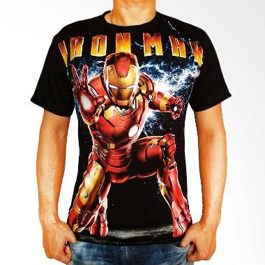 Jejo Karakter Iron Man Kaos Pria