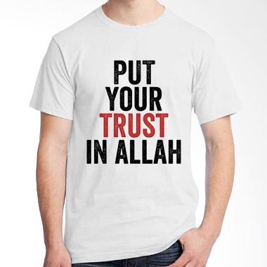 Ordinal Islamic Quotes Edition Trust T-shirt