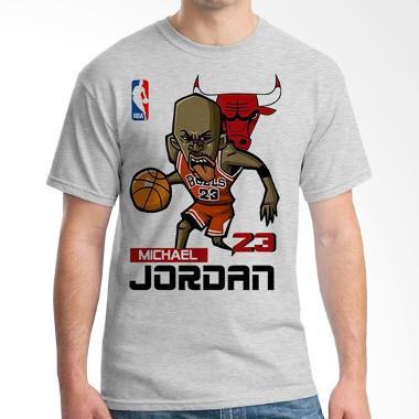 Ordinal NBA Player Edition Michael Jordan 02 Grey T-shirt