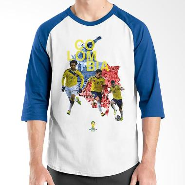 Ordinal WC Colombia Team 01 Blue White Raglan
