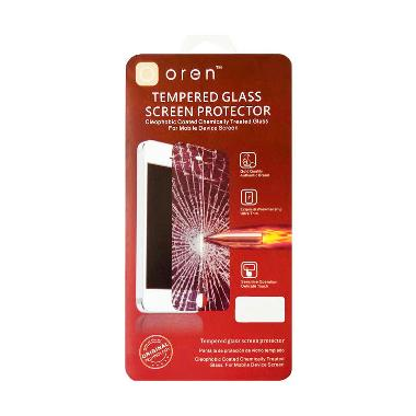 Oren Anti Gores Tempered Glass Screen Protector for iPad 3 - Clear