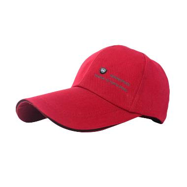 Ormano Baseball Snapback Golf 22 Genuine Sports Topi - Merah Marun