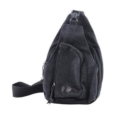 Ormano Bodypack Bag Tas Selempang Pria - Hitam
