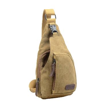Ormano Bodypack Bag Tas Selempang Pria - Khaki