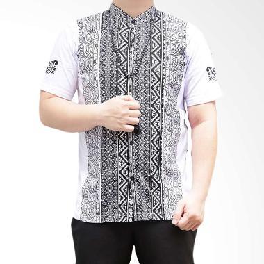 Ormano Eksklusif N40 Baju Koko Muslim Pendek - Putih