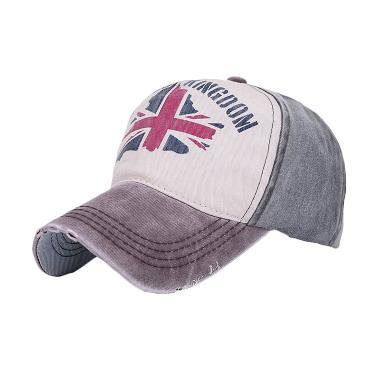Ormano Snapback Cap UK Topi Baseball - Hijau Coklat