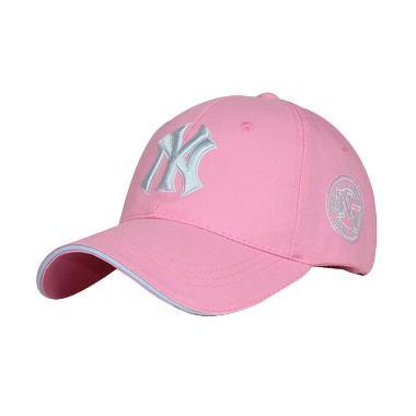 Ormano Snapback Hip Hop NY 98 Cap Topi Baseball  - Pink