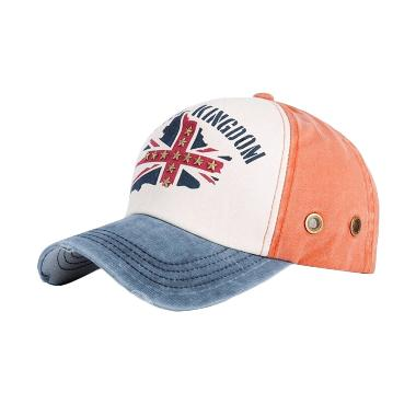 Ormano Topi Baseball Snapback Cap UK  - Orange