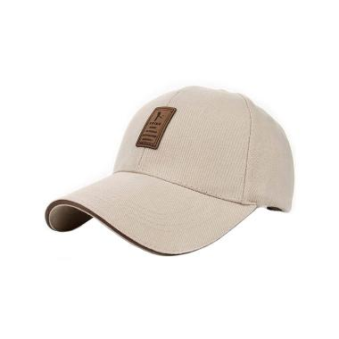 Ormano Topi Baseball Snapback Golf ED Cap - Beige