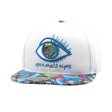 ... Graffiti Source · Ormano Topi Baseball Snapback Hip Hop One Eye Cap  Putih 8652ac0c15