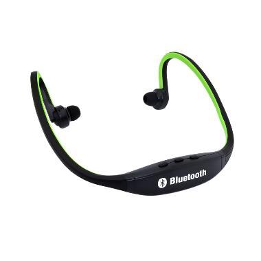 Ormano Teiton Sport Neck USB Wireless Bluetooth Headset - Hitam Hijau