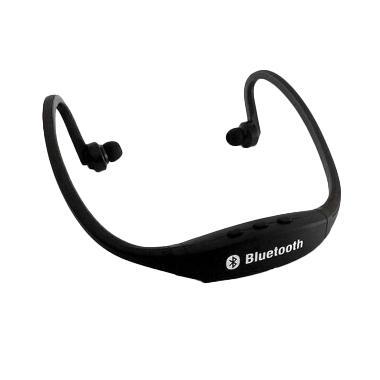 Ormano Teiton Sport Neck USB Wireless Bluetooth Headset - Hitam