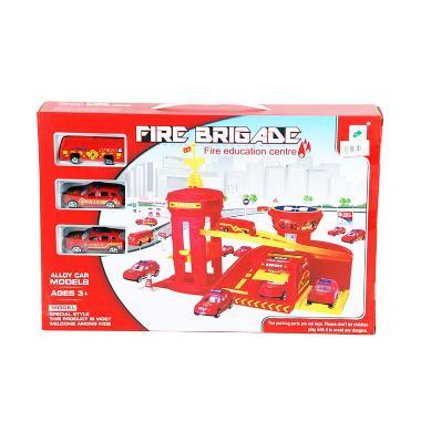 Otoys PA-C793968 Fire Cars Brigade  ... nter Play Set Mainan Anak