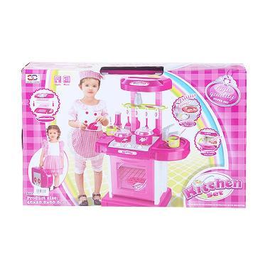 Jual mainan anak perempuan harga murah for Kitchen set 008 58