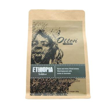 Otten Coffee Arabica Ethiopia Sidamo Biji Kopi [200g]