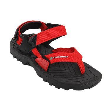 Outdoor Bronco sandal Gunung Red Sandal Pria
