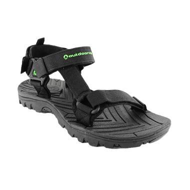 Outdoor Kale-TX Black Sandal Gunung