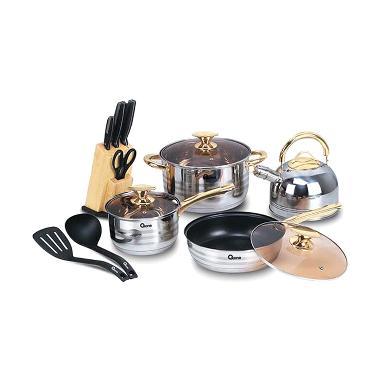 Panci Oxone Rosegold Cookware Set OX-777