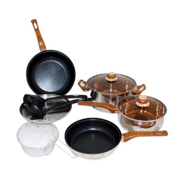 Jual oxone ox 911 basic cookware kitchen set alat masak for Jual peralatan kitchen set