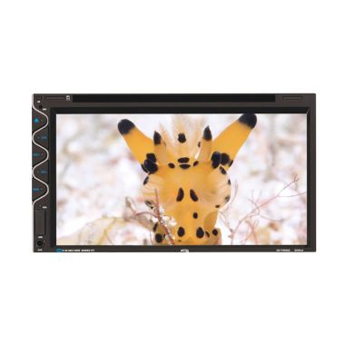 Oxygen 02-TV6922 Hitam Double Din Head Unit Mobil