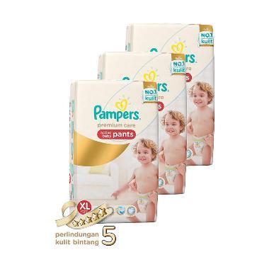 Jual (Pampers Diaper Premium Care Pants Diaper Bayi XL-54