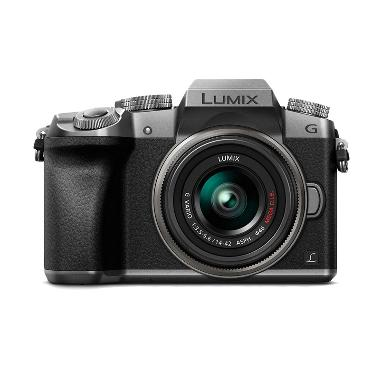harga Panasonic Lumix DMC-G7 Kit 14-42mm Silver Kamera Mirrorless Blibli.com