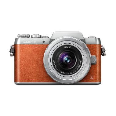 Panasonic Lumix DMC-GF8 Kit Lens 12-32mm Kamera Mirrorless - Orange