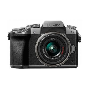 Panasonic Lumix DMC-G7K KIT 14-42mm Kamera Mirrorless - Silver