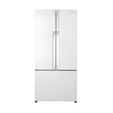 Panasonic NR-CY557GW1D Refrigerator - White [Side By Side/Econavi Converter/547 L]