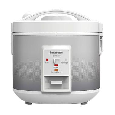 Panasonic SR-TP18SSR Dots Rice Cooker - Silver [4 in 1/ Easy Cooking]