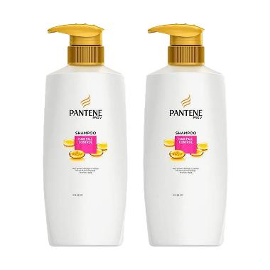 HARGA Pantene Hair Fall Control Shampoo [480 mL/2 pcs] Terbagus
