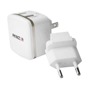 Panzer 2 USB with Smart IC and Fast Charging Travel Charger