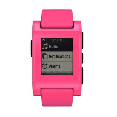 Pebble Fresh Fly Special Edition Pink Smartwatch