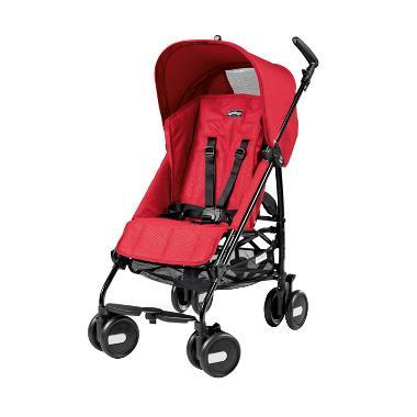 Peg Perego Pliko Mini Mod Kereta Dorong Bayi - Red