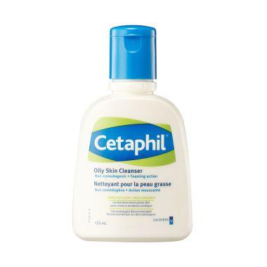 Cetaphil Oily Skin Cleanser Pembersih Wajah [125 ML]