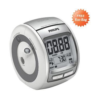 PHILIPS AJ3700 Alarm Clock + Free Eco Bag