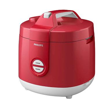 Philips HD3127/32 Rice Cooker - Merah [2 Liter]