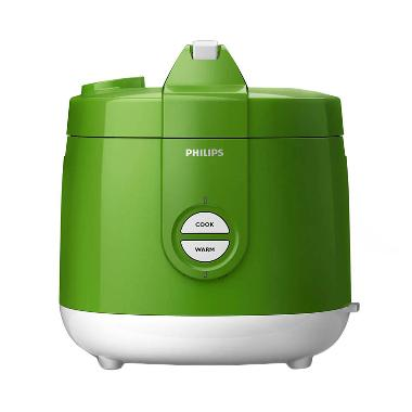 Philips HD3127/30 Rice Cooker - Hijau [2 Liter]