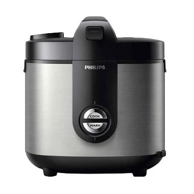 PHILIPS HD3128/33 Viva Colection Rice Cooker - Silver